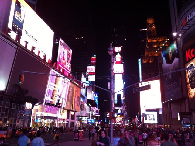 Times Square - New York City is like the real Bladerunner