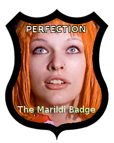 The Marildi badge